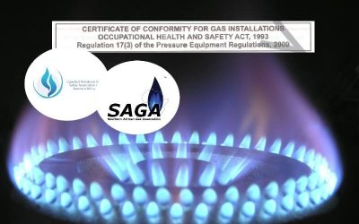 Gas Compliance Certificate in the Johannesburg Area